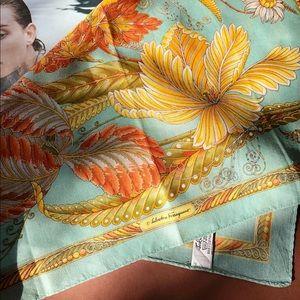 Salvatore Ferragamo cotton mini scarf